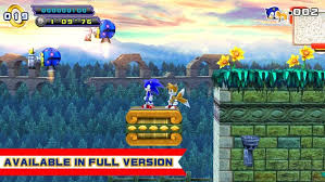 sonic 4 episode 2 apk sonic 4 episode ii lite apk free arcade for