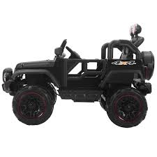 jeep power wheels black black 12v kids ride on cars electric battery power wheels remote