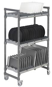 stainless steel trolley for commercial kitchens for dishwasher