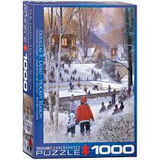 jigsaw quote game amazon com eurographics hockey season jigsaw puzzle 1000 piece