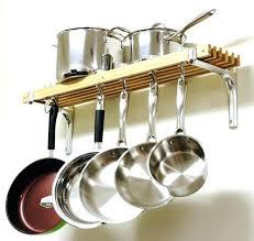 kitchen pan storage ideas kitchen pot rack bloomingcactus me
