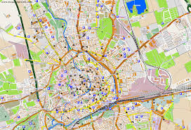 Erfurt Germany Map by City Maps Erfurt
