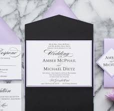 lavender wedding invitations formal wedding invitation suite all that glitters