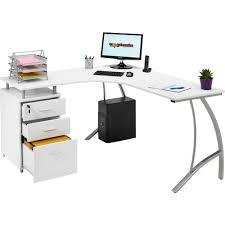 Small White Corner Computer Desk Emejing Modern White Corner Desk Ideas Liltigertoo
