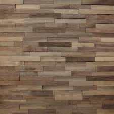 Wood Panels For Walls by Wallure Striped Walnut Narrow Sleek Natural Wooden Wall