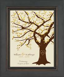 50th anniversary ideas beautiful gift ideas for 50th wedding anniversary b95 in images