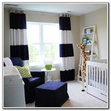 Navy Blue And White Horizontal Striped Curtains Red Vertical Striped Curtains Business For Curtains Decoration