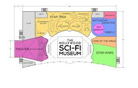 museum layout u2013 hollywood sci fi