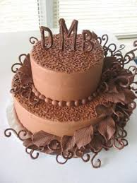 Chocolate Frosted Cakes
