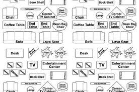 9 best images of free printable furniture templates for floor