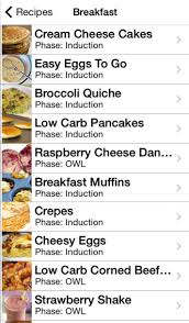 101 atkins diet recipes tips food checker and more on the app