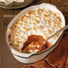 spiced sweet potato casserole