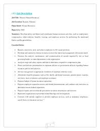 director human resources resume human resource manager resume u2013 inssite