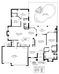plans 653325 653325 stunning 3 bedroom open house plan with