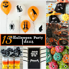 Halloween Party Theme Ideas by 18 Halloween Party Decorating Ideas Spooky Decor Crafts Diy