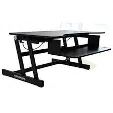 High Computer Desk Adjustable Height Computer Desk Visualizeus
