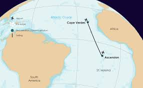 Cape Air Route Map by Atlantic Odyssey Expedition Cruises Visiting Antarctic Peninsula