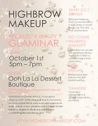 Make Up Classes In Houston Tx Events U2014 Highbrow Makeup