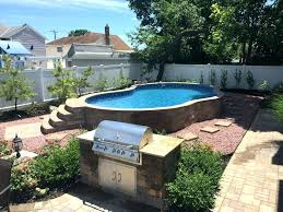 backyard pool landscaping above ground pool ideas backyard backyard pools radiant semi with