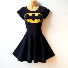 Batgirl Halloween Costumes Batman Kleid Superhero Batgirl Cosplay Von