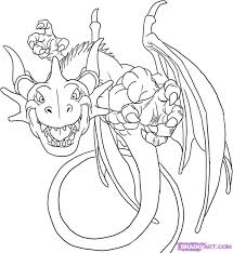 cartoon dragons pictures kids coloring