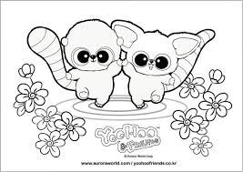 free printable coloring pages yoohoo u0026 friends 3 kittens