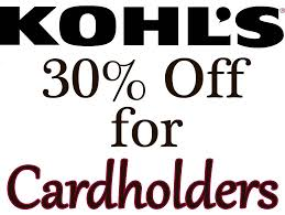 amazon 30 off coupon black friday kohl u0027s cardholders coupon for additional savings slickdeals net
