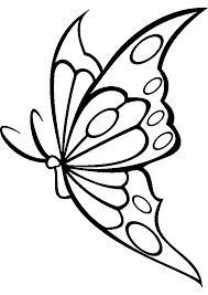 papillon avec un coeur sur l u0027aile frontale sur la vue de côté