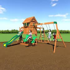 backyard discovery monticello cedar swing set reviews home