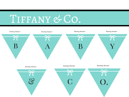tiffany baby shower printable magical printable