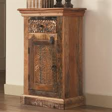 Accent Cabinets Accent Cabinet In Reclaimed Wood Finish By Coaster 950371