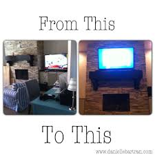 Best Way To Hide Wires From Wall Mounted Tv Made How To Mount A Flat Screen Tv On A Stone Fireplace Diy