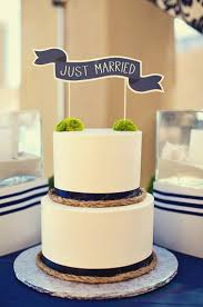 Nautical Theme Wedding Cakes - summer weddings are practically begging for one of these nautical