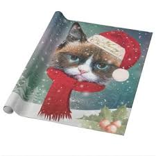 cat christmas wrapping paper best cat wrapping paper products on wanelo