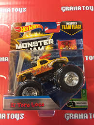 el toro loco 1 10 creatures 2017 wheels monster jam case a