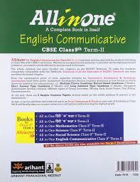 all in one english communicative cbse class 9th term ii amazon