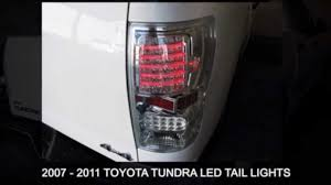 2010 toyota tundra tail light bulb replacement toyota tundra 2007 2011 led aftermarket tail light installation