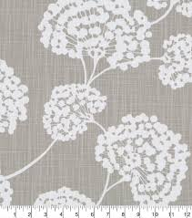 robert allen home upholstery fabric 55 u0027 u0027 light gray toile stems