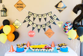 alfonso ribeiro and wife give son a dump truck themed birthday party