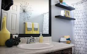 yellow and grey bathroom ideas yellow and grey bathroom redo ideas for yellow and grey bathroom