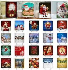 Discount Christmas Shower Curtains Discount Christmas Curtain Design 2017 Christmas Curtain Design