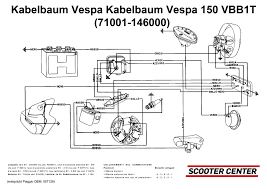 wiring loom vespa vespa 150 vbb1t 71001 146000 scooter