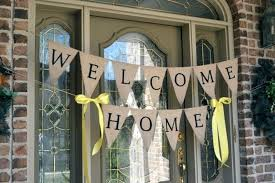 welcome home decorations charming ideas welcome home decoration home design ideas