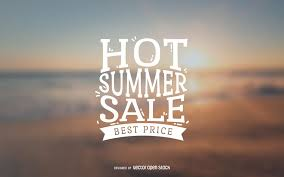summer sale summer sale label vector