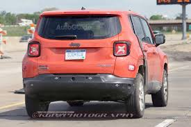 red jeep patriot black rims 2017 jeep patriot mule spied testing with renegade body