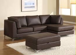 Modern Brown Sofa Lovely Modern Brown Leather Sofa 95 On Sofas And Couches Ideas