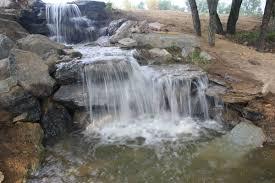 backyard waterfall and pond decoration u0026 furniture best pond