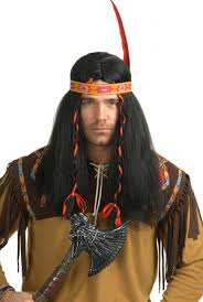 Bull Halloween Costume Running Bull Indian Wig Costumes