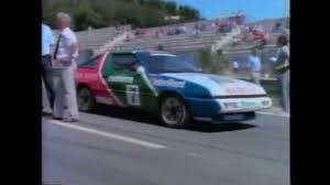 mitsubishi starion rally car mitsubishi starion we u0027re fast youtube