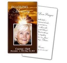 funeral prayer cards prayer card template the free website templates